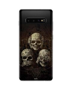 Hear Speak and See No evil Galaxy S10 Plus Skin