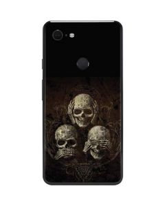 Hear Speak and See No evil Google Pixel 3 XL Skin