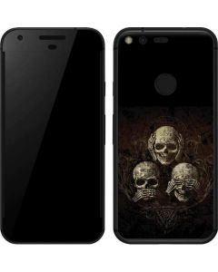 Hear Speak and See No evil Google Pixel Skin