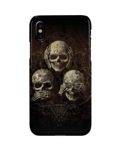 Hear Speak and See No evil iPhone XS Max Lite Case