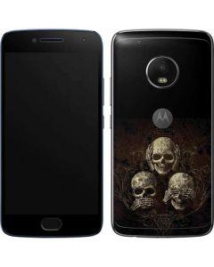 Hear Speak and See No evil Moto G5 Plus Skin