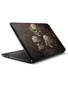 Hear Speak and See No evil HP Notebook Skin
