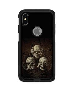 Hear Speak and See No evil Otterbox Commuter iPhone Skin