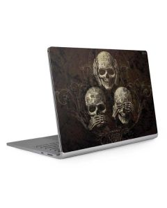 Hear Speak and See No evil Surface Book 2 15in Skin