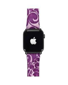 Heart Purple Apple Watch Case