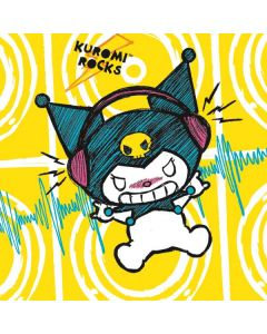 Kuromi Rocker Girl Yellow Stereos Nintendo GameCube Controller Adapter Skin
