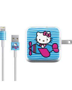 Hello Kitty Airplane iPad Charger (10W USB) Skin