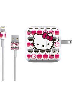 Hello Kitty Apples iPad Charger (10W USB) Skin