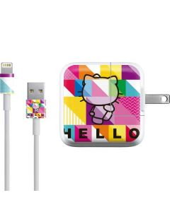 Hello Kitty Backwards iPad Charger (10W USB) Skin