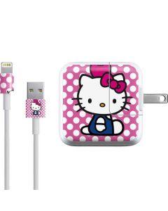 Hello Kitty Balancing Apple iPad Charger (10W USB) Skin