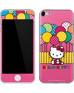 Hello Kitty Balloon Fence Apple iPod Skin
