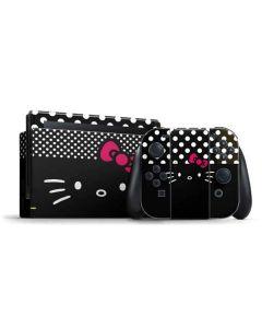 Hello Kitty Black Nintendo Switch Bundle Skin