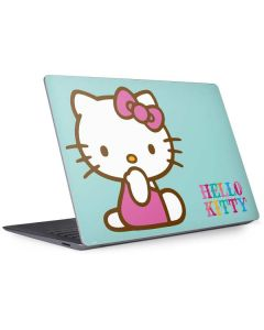 Hello Kitty Blue Background Surface Laptop 3 13.5in Skin