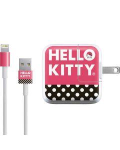 Hello Kitty Bold iPad Charger (10W USB) Skin