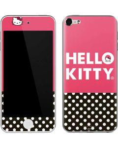 Hello Kitty Bold Apple iPod Skin