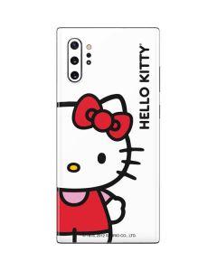Hello Kitty Classic White Galaxy Note 10 Plus Skin