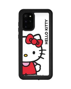Hello Kitty Classic White Galaxy S20 Plus Waterproof Case