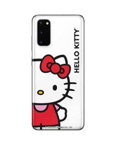 Hello Kitty Classic White Galaxy S20 Skin