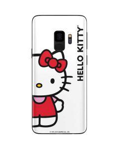 Hello Kitty Classic White Galaxy S9 Skin