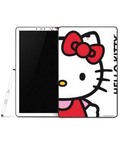 Hello Kitty Classic White Samsung Galaxy Tab Skin