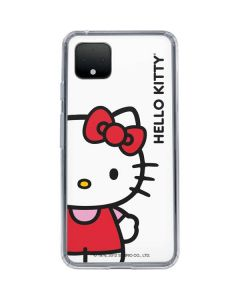 Hello Kitty Classic White Google Pixel 4 Clear Case