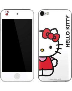 Hello Kitty Classic White Apple iPod Skin