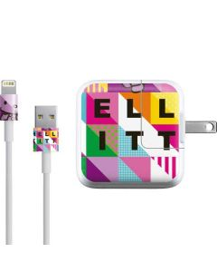 Hello Kitty Color Design iPad Charger (10W USB) Skin