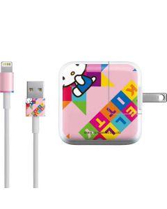 Hello Kitty Colorful iPad Charger (10W USB) Skin