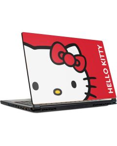 Hello Kitty Cropped Face Red MSI GS65 Stealth Laptop Skin
