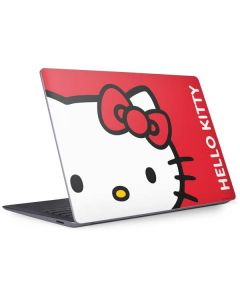 Hello Kitty Cropped Face Red Surface Laptop 3 13.5in Skin