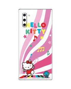 Hello Kitty Dancing Notes Galaxy Note 10 Skin
