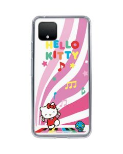 Hello Kitty Dancing Notes Google Pixel 4 Clear Case