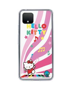 Hello Kitty Dancing Notes Google Pixel 4 XL Clear Case