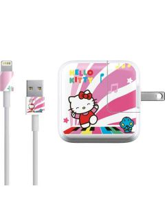 Hello Kitty Dancing Notes iPad Charger (10W USB) Skin