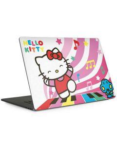 Hello Kitty Dancing Notes Apple MacBook Pro 15-inch Skin