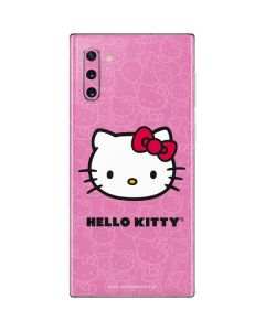 Hello Kitty Face Pink Galaxy Note 10 Skin