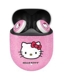 Hello Kitty Face Pink Google Pixel Buds Skin