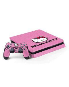 Hello Kitty Face Pink PS4 Slim Bundle Skin
