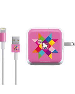 Hello Kitty Geometric iPad Charger (10W USB) Skin
