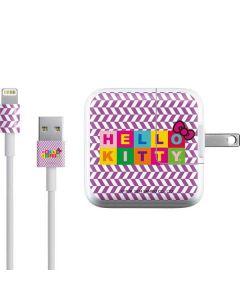 Hello Kitty Logo iPad Charger (10W USB) Skin
