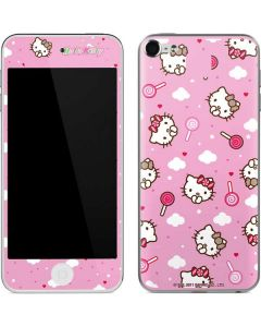 Hello Kitty Lollipop Pattern Apple iPod Skin