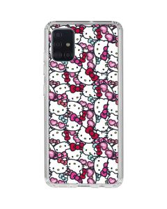 Hello Kitty Multiple Bows Galaxy A51 Clear Case