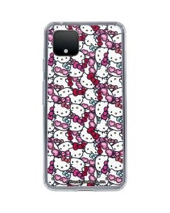Hello Kitty Multiple Bows Google Pixel 4 Clear Case