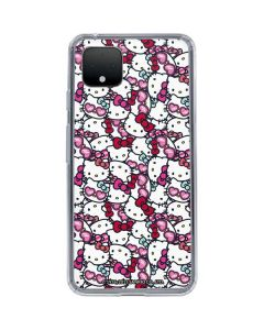 Hello Kitty Multiple Bows Google Pixel 4 XL Clear Case