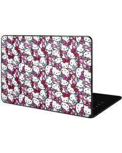 Hello Kitty Multiple Bows Google Pixelbook Go Skin
