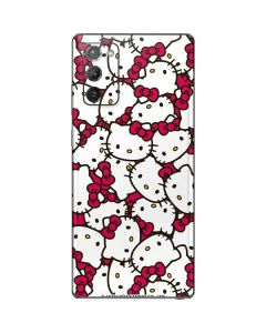 Hello Kitty Multiple Bows Pink Galaxy Note20 5G Skin