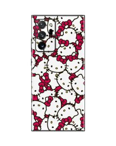 Hello Kitty Multiple Bows Pink Galaxy Note20 Ultra 5G Skin