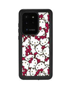 Hello Kitty Multiple Bows Pink Galaxy S20 Ultra 5G Waterproof Case