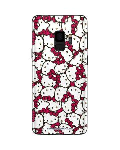 Hello Kitty Multiple Bows Pink Galaxy S9 Skin