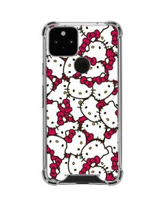 Hello Kitty Multiple Bows Pink Google Pixel 5 Clear Case